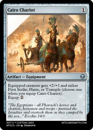 Cairo Chariot