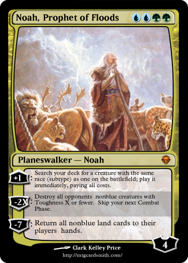 Noah, Prophet of Floods
