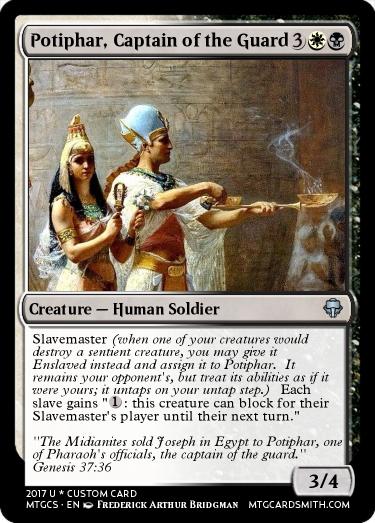 Potiphar, Captain of the Guard