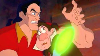 Gaston demonstrating beast