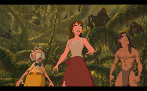 Tarzan Shows Jane Apes